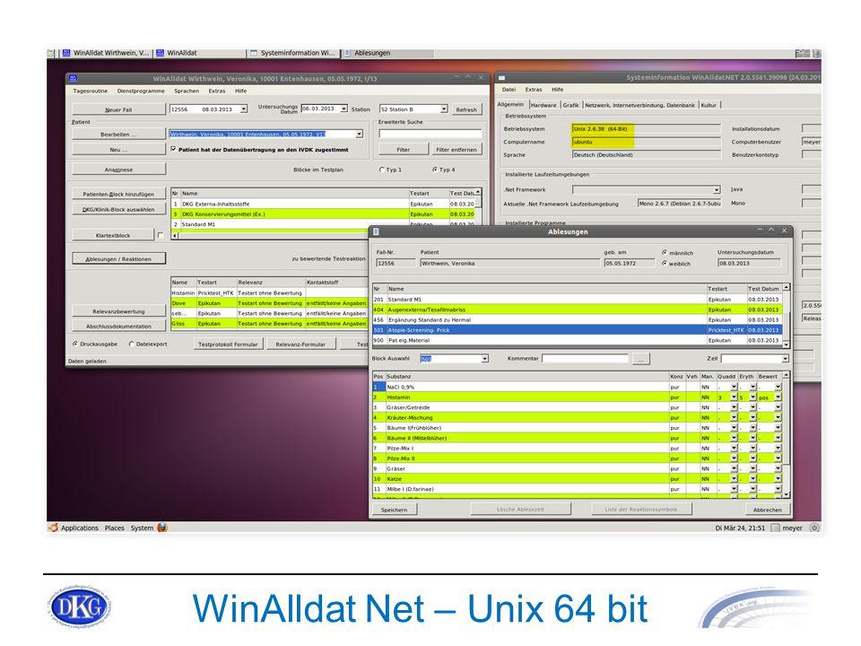 WinAlldat Net – Unix 64 bit