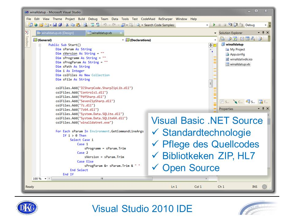 Visual Basic .NET Source