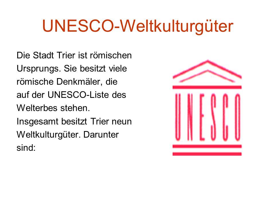 UNESCO-Weltkulturgüter