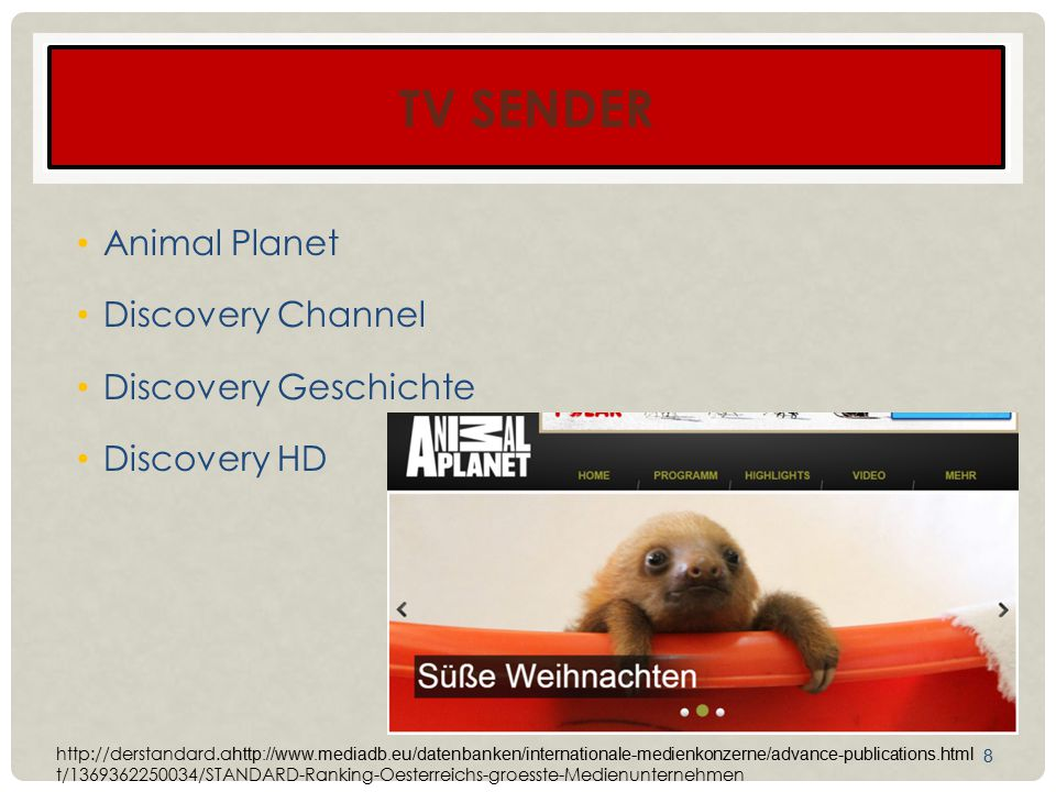 TV Sender Animal Planet Discovery Channel Discovery Geschichte