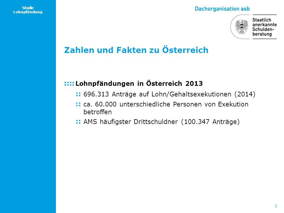 Zahlen und Fakten zu Österreich