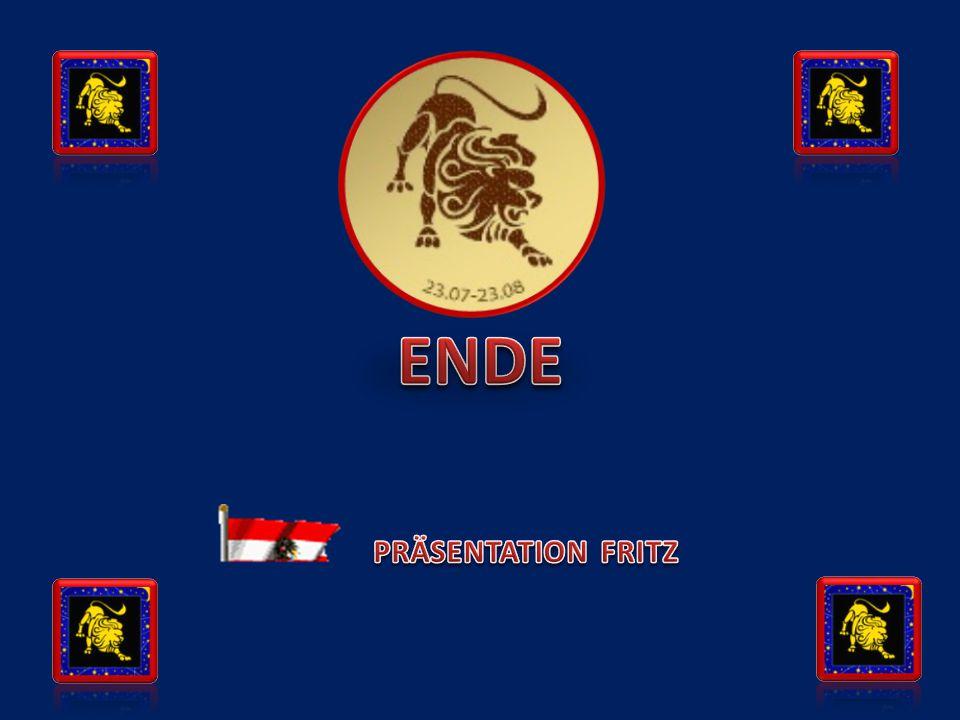 ENDE PRÄSENTATION FRITZ