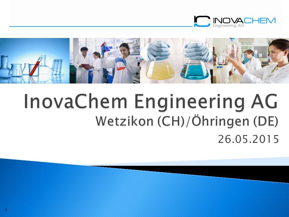 InovaChem Engineering AG Wetzikon (CH)/Öhringen (DE)