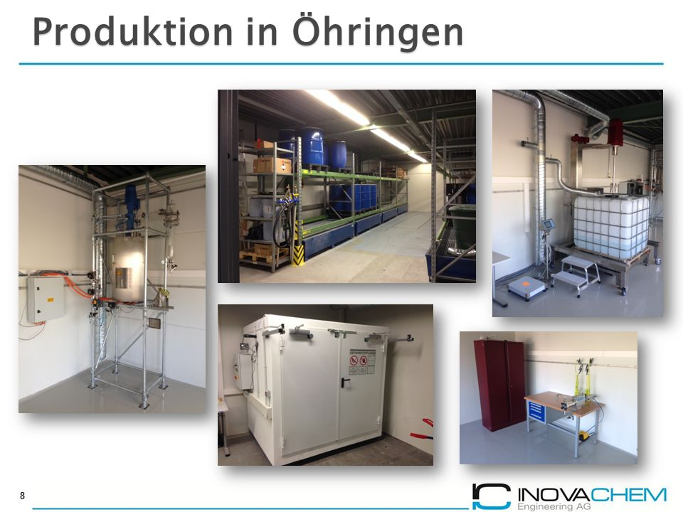 Produktion in Öhringen