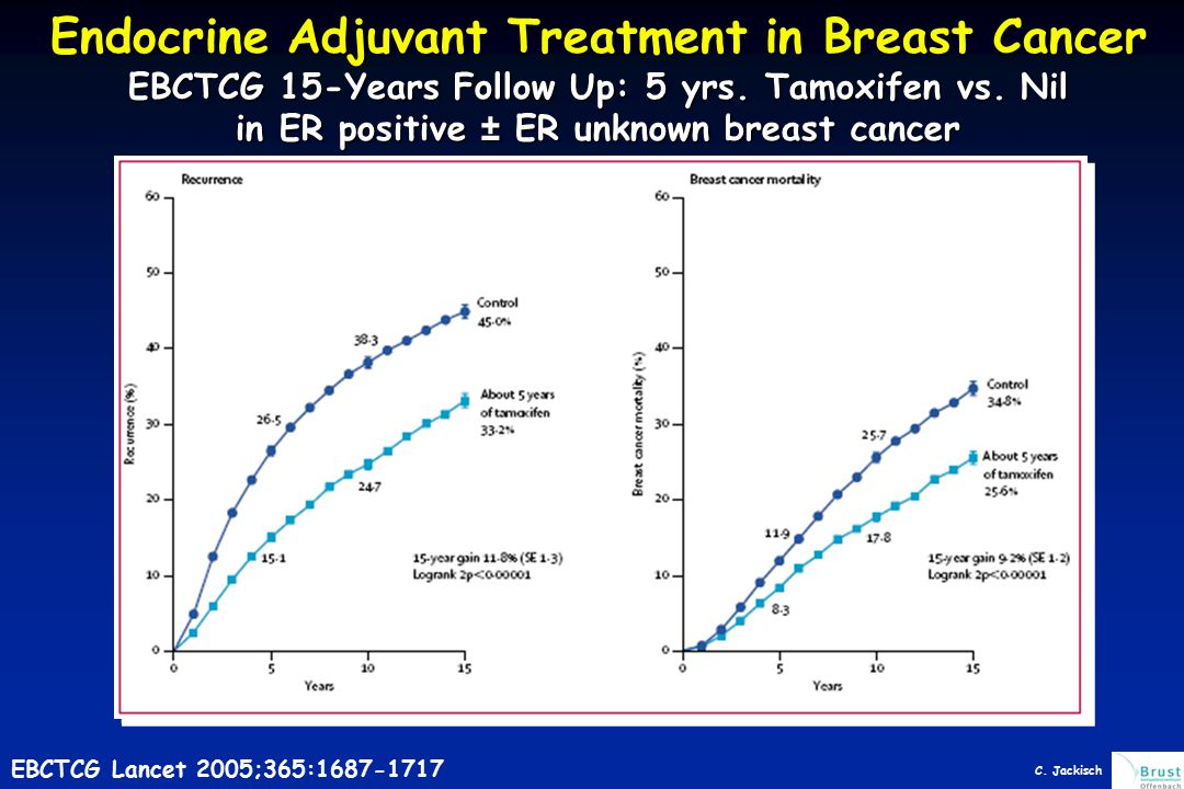 Endocrine Adjuvant Treatment in Breast Cancer