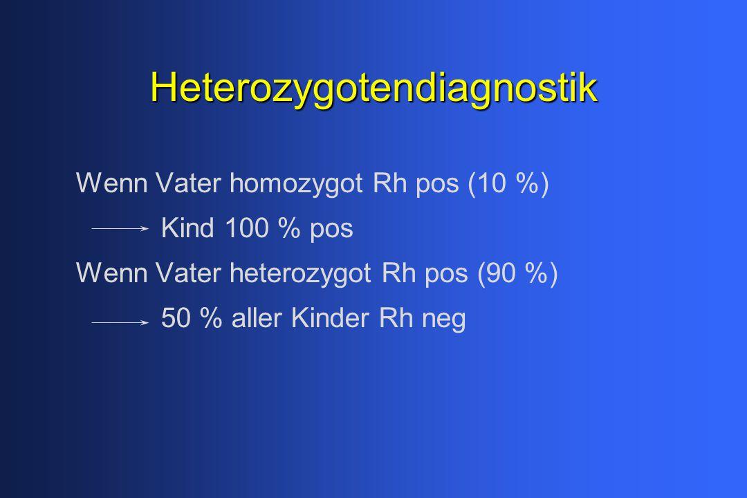 Heterozygotendiagnostik