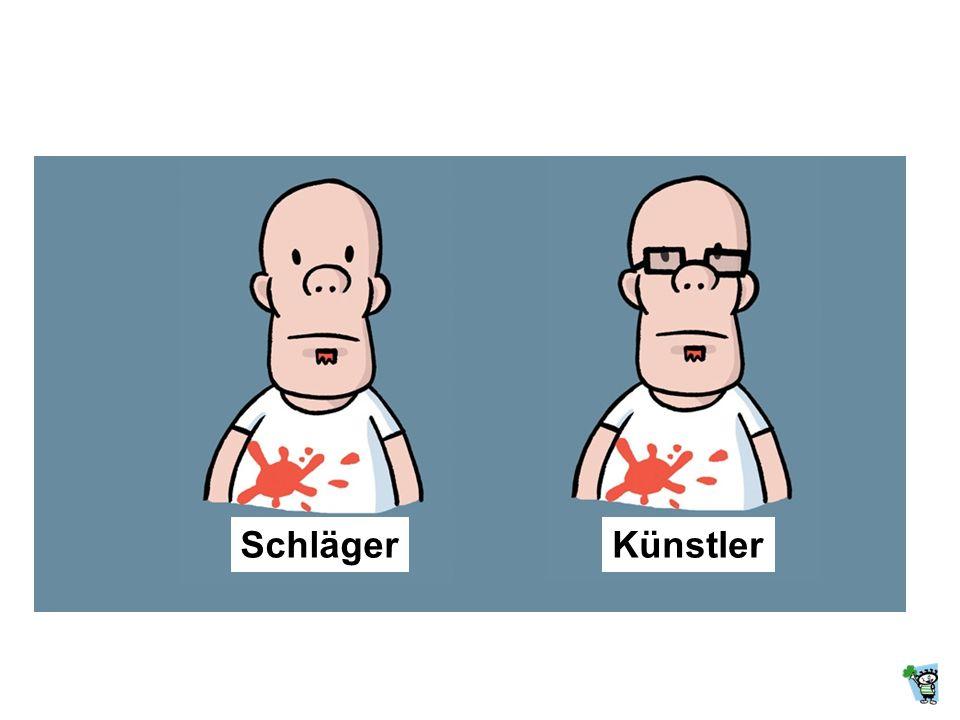 Schläger Künstler