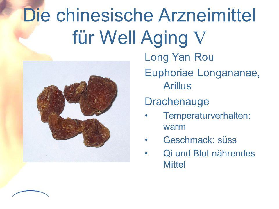 Die chinesische Arzneimittel für Well Aging V