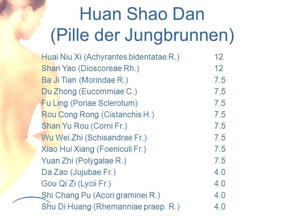 Huan Shao Dan (Pille der Jungbrunnen)