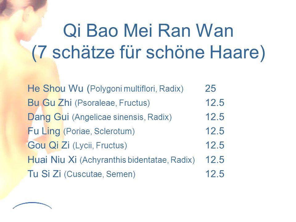 Qi Bao Mei Ran Wan (7 schätze für schöne Haare)