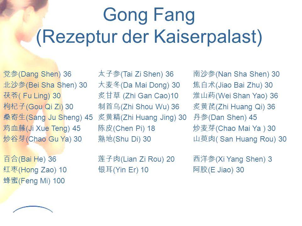 Gong Fang (Rezeptur der Kaiserpalast)