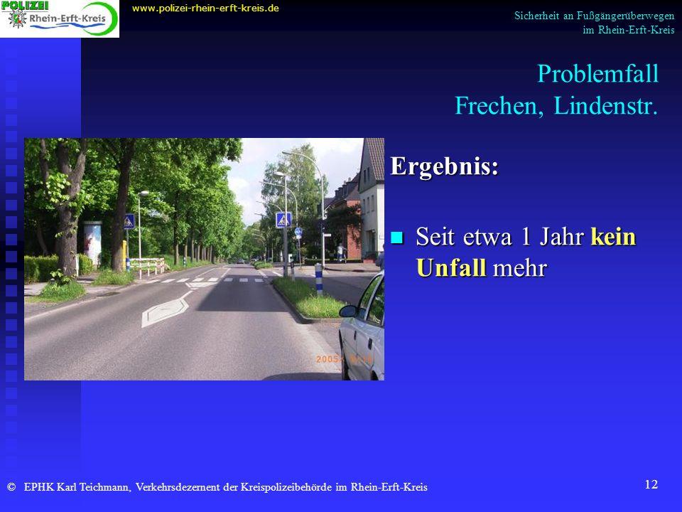 Problemfall Frechen, Lindenstr.
