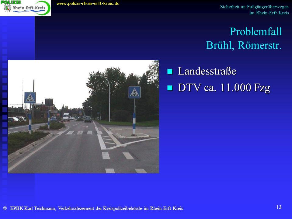 Problemfall Brühl, Römerstr.