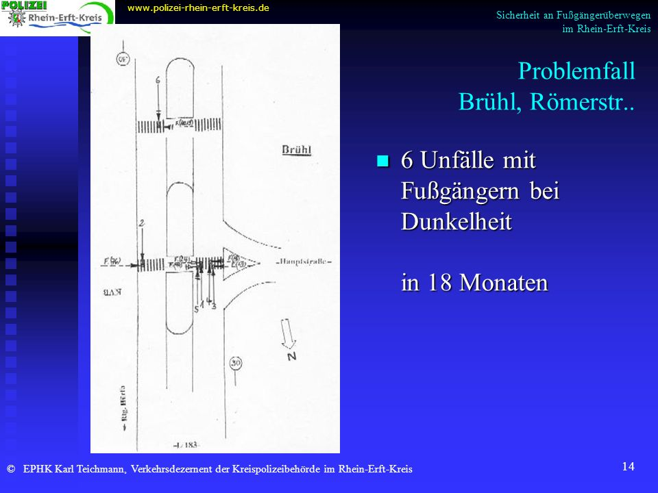 Problemfall Brühl, Römerstr..