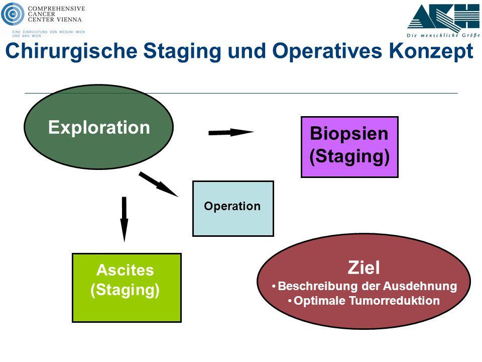 Chirurgische Staging und Operatives Konzept