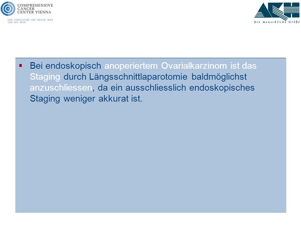 Statement Leitlinie AGO