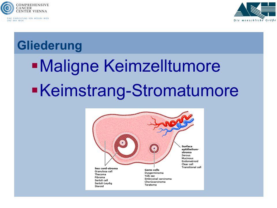 Maligne Keimzelltumore Keimstrang-Stromatumore