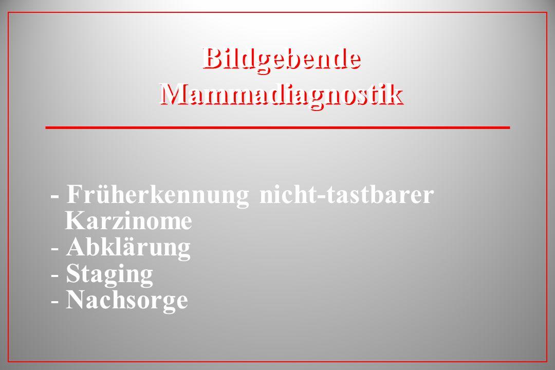 Bildgebende Mammadiagnostik