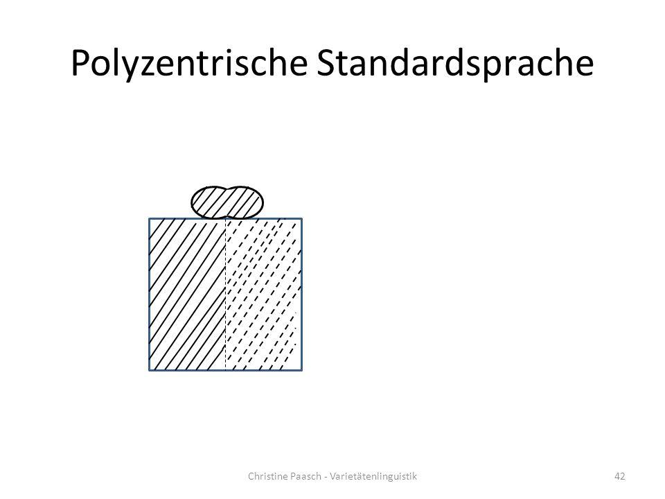 Polyzentrische Standardsprache