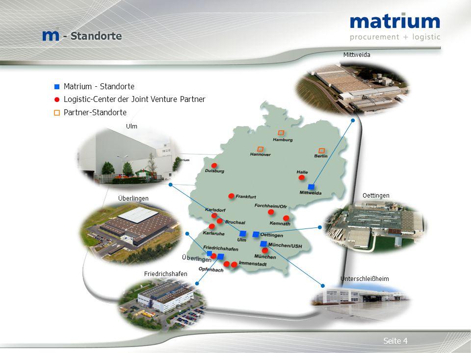 - Standorte Matrium - Standorte