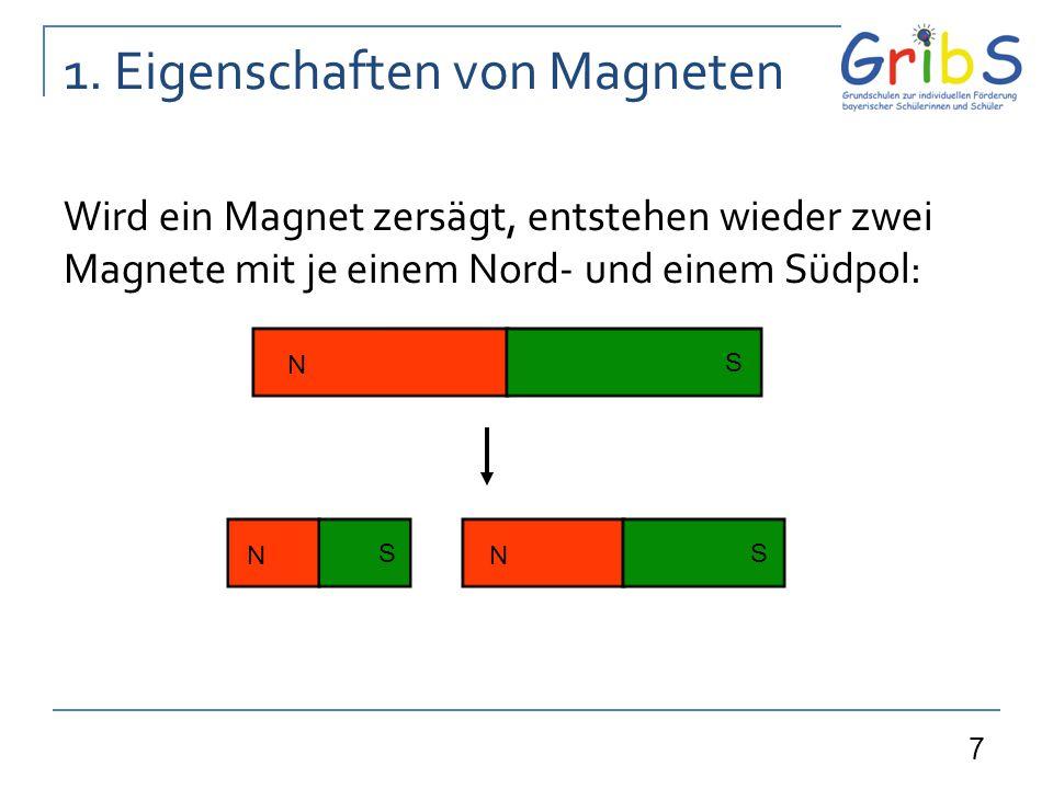 1. Eigenschaften von Magneten