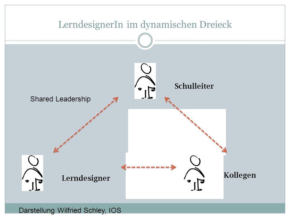 LerndesignerIn im dynamischen Dreieck