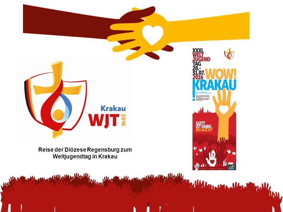 Reise der Diözese Regensburg zum Weltjugendtag in Krakau
