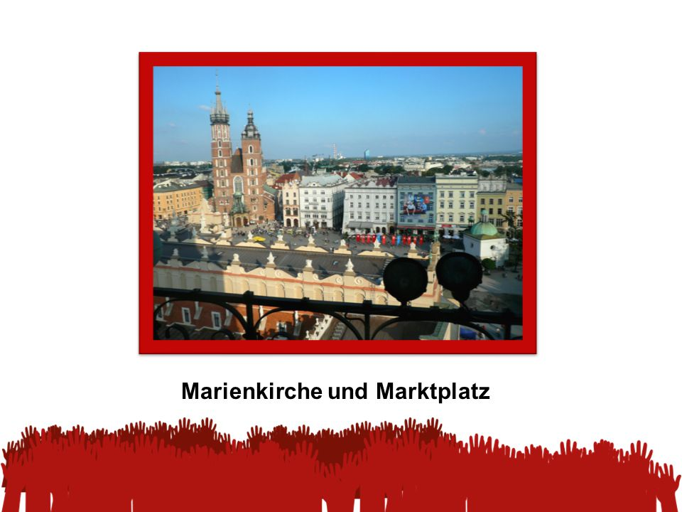 Marienkirche und Marktplatz