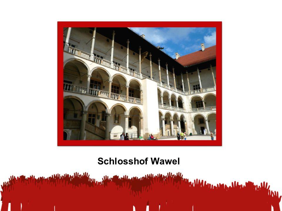 Schlosshof Wawel