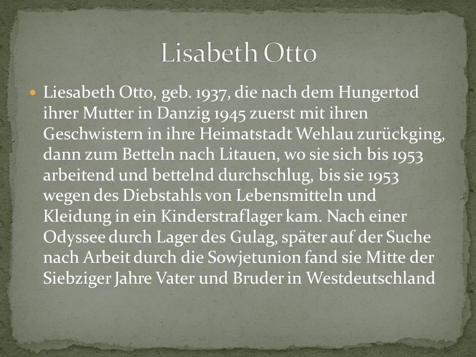 Lisabeth Otto