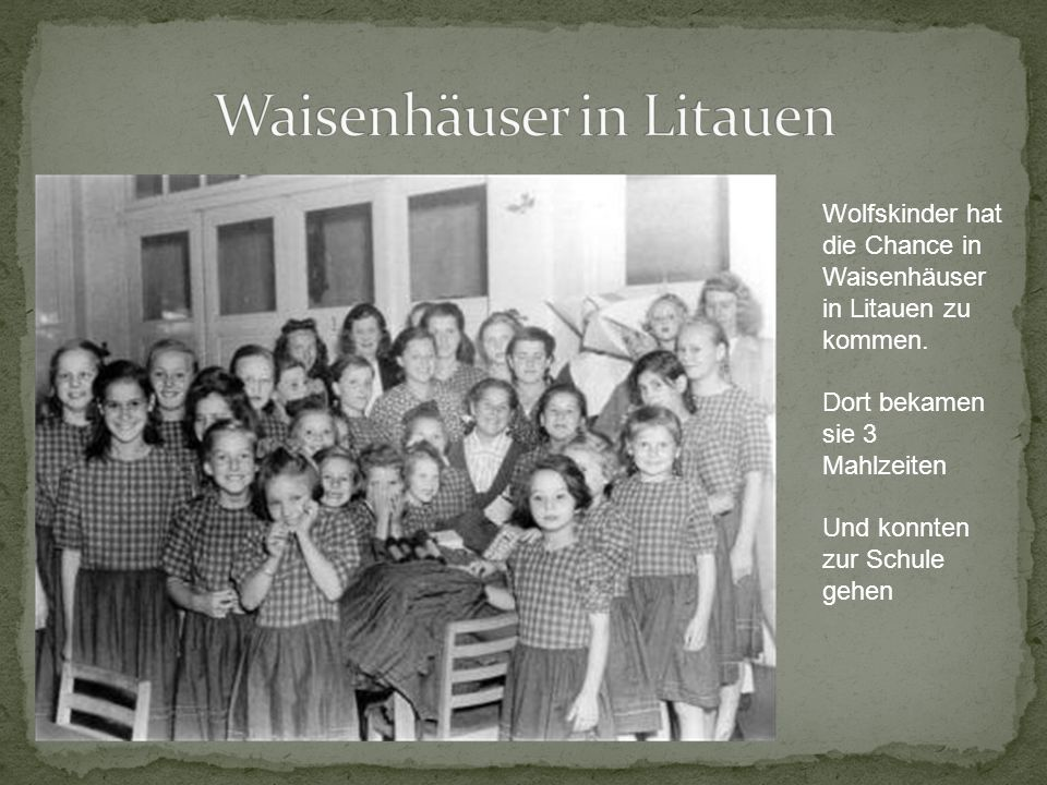 Waisenhäuser in Litauen