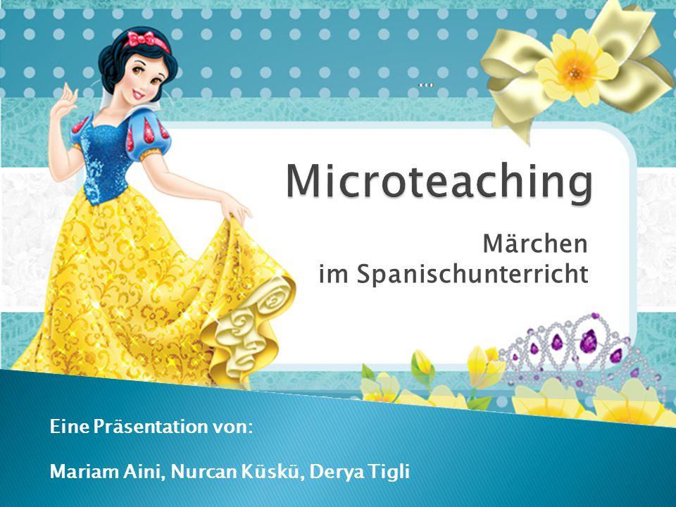 Märchen im Spanischunterricht