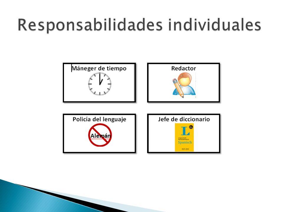 Responsabilidades individuales
