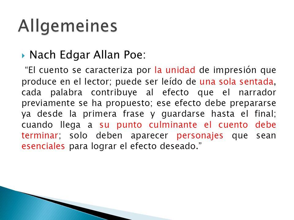 Allgemeines Nach Edgar Allan Poe: