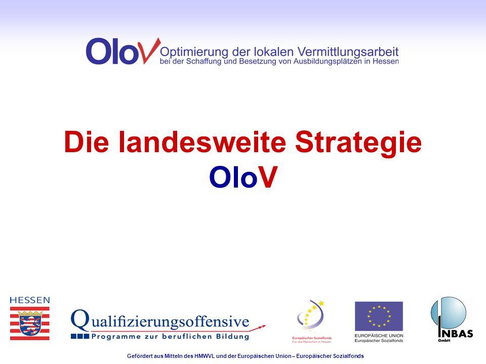 Die landesweite Strategie OloV