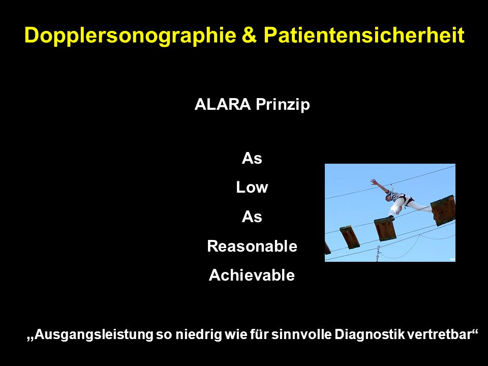 Dopplersonographie & Patientensicherheit