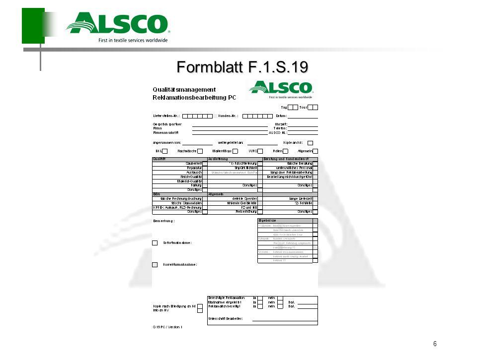Formblatt F.1.S.19