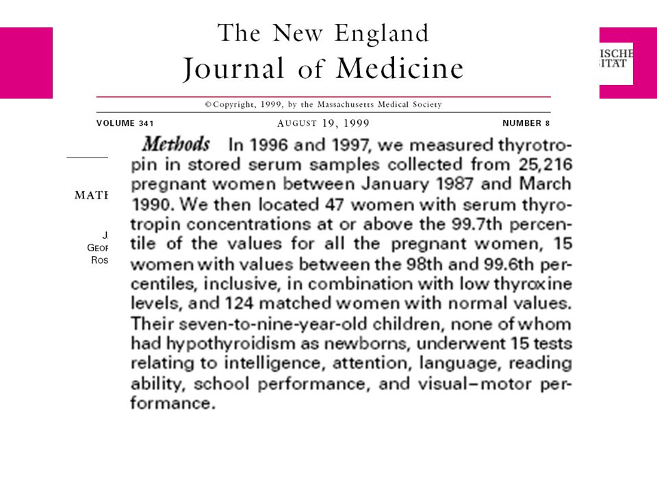 New England Journal of Medicine: