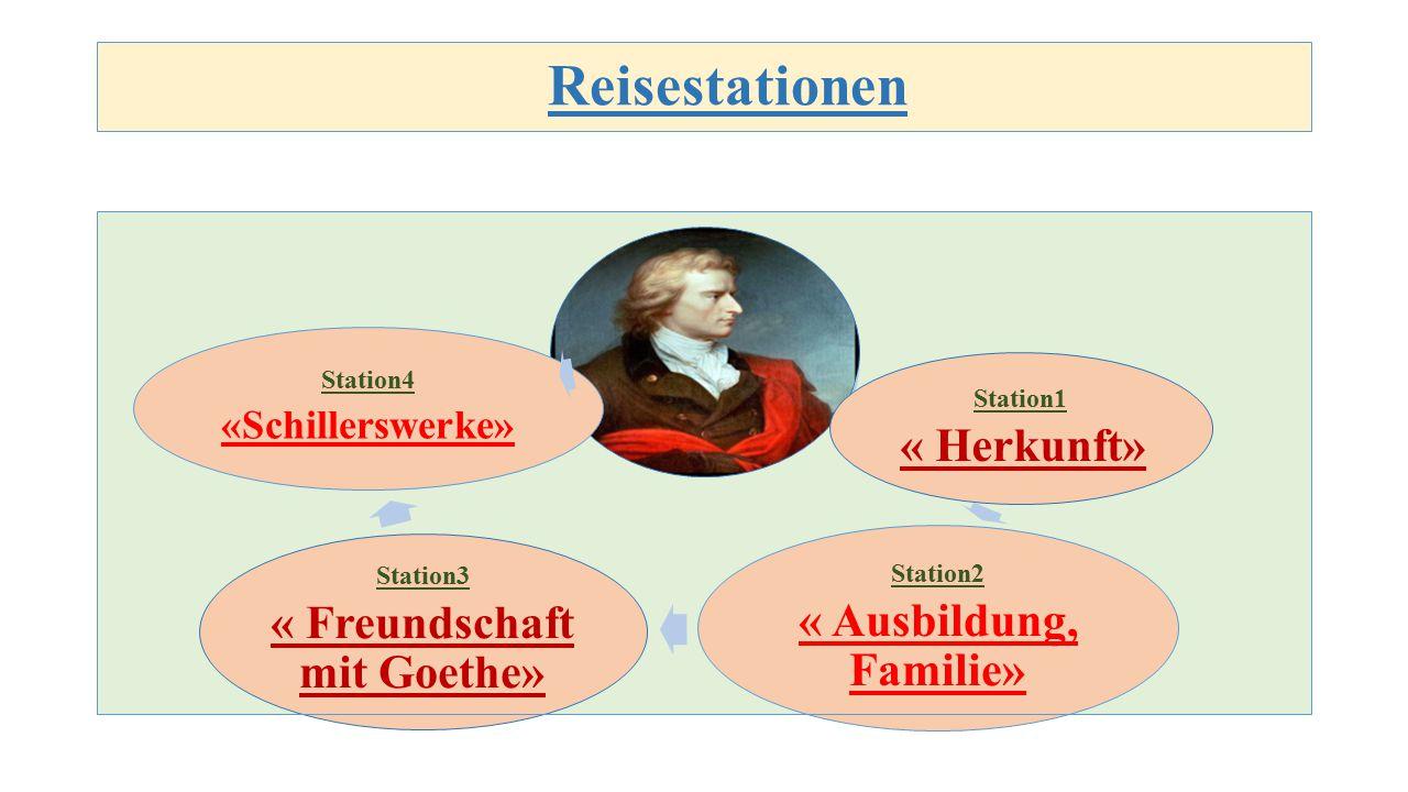 « Freundschaft mit Goethe»