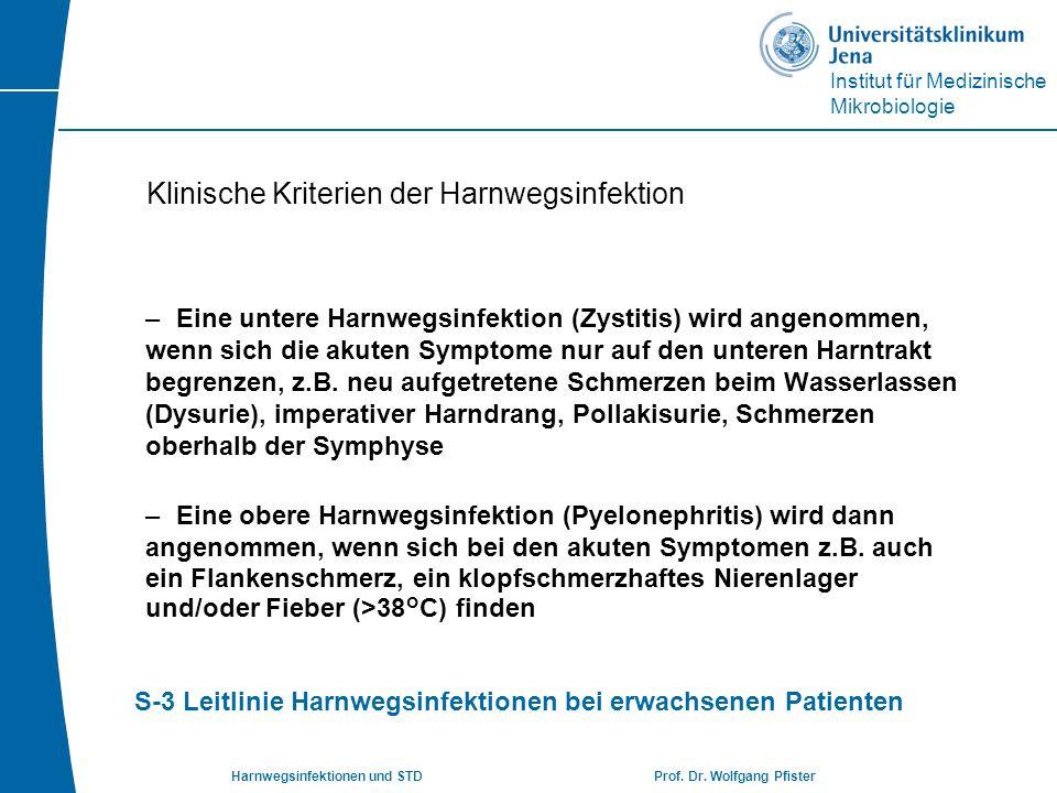 Klinische Kriterien der Harnwegsinfektion