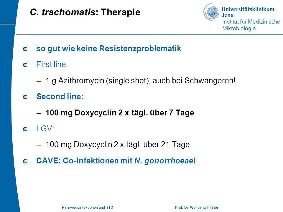 C. trachomatis: Therapie