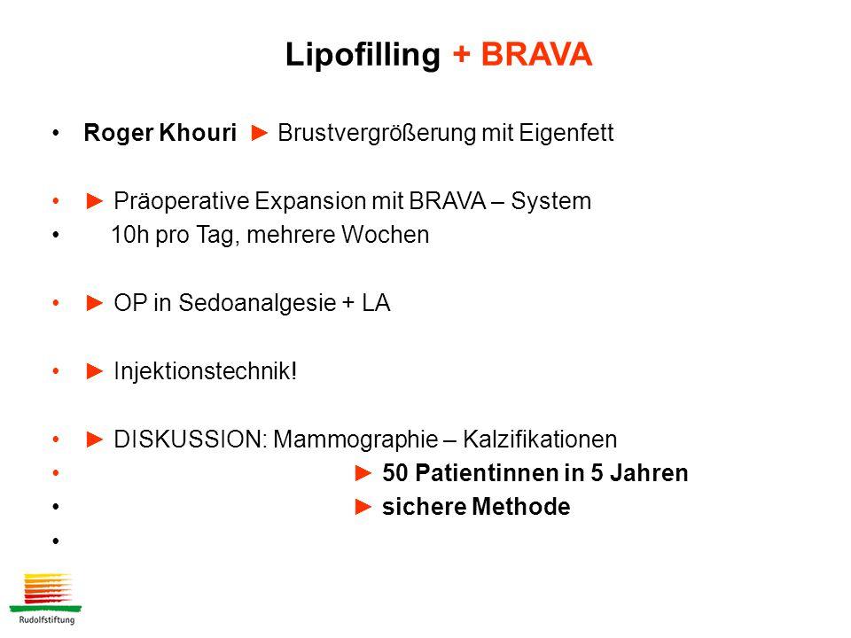 Lipofilling + BRAVA Roger Khouri ► Brustvergrößerung mit Eigenfett