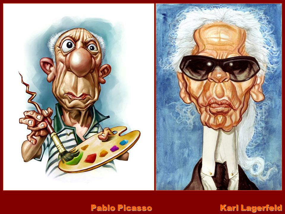 Pablo Picasso Karl Lagerfeld