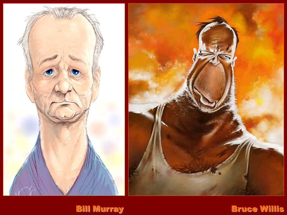 Bill Murray Bruce Willis