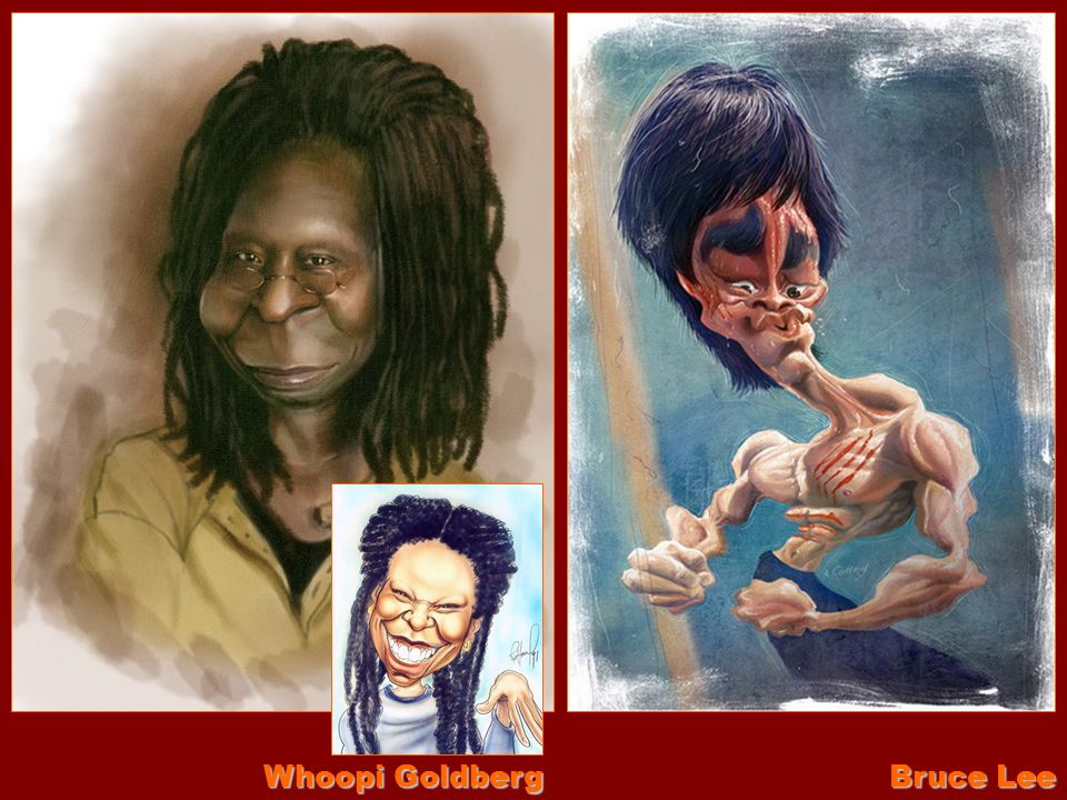 Whoopi Goldberg Bruce Lee