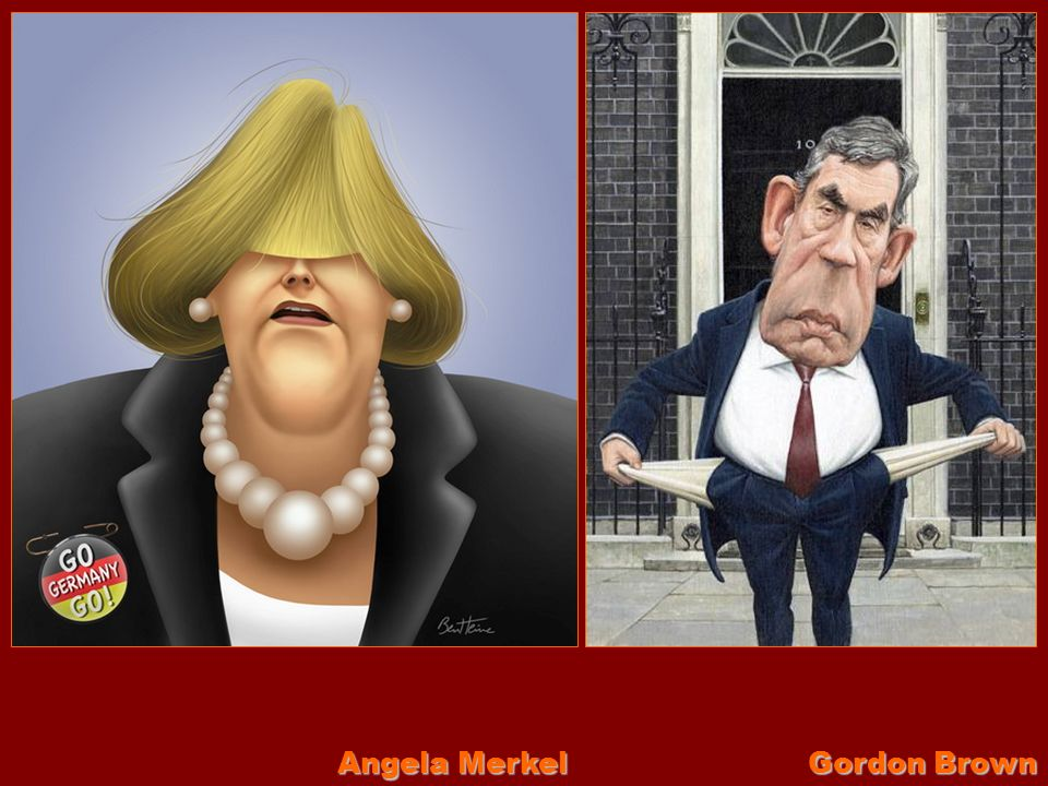 Angela Merkel Gordon Brown
