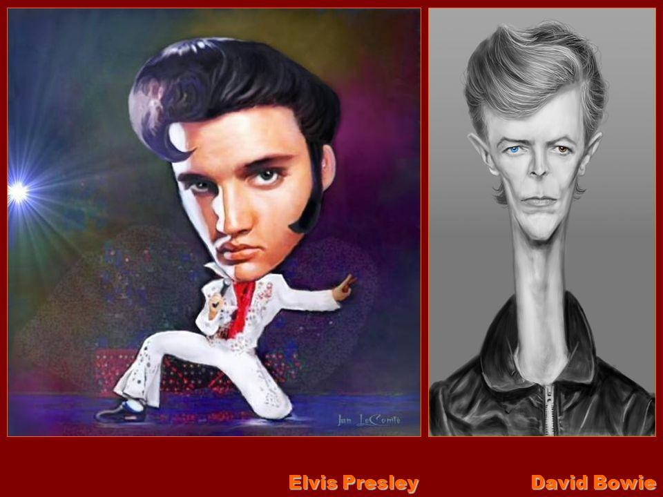 Elvis Presley David Bowie