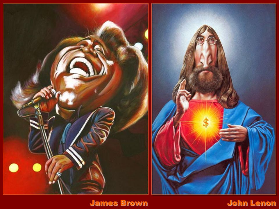 James Brown John Lenon