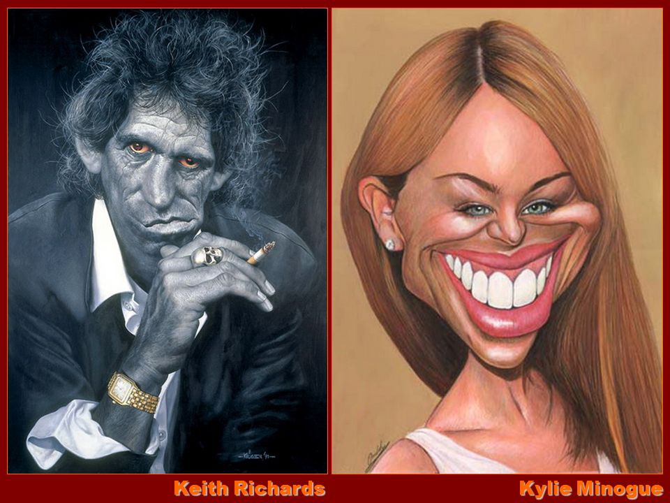 Keith Richards Kylie Minogue