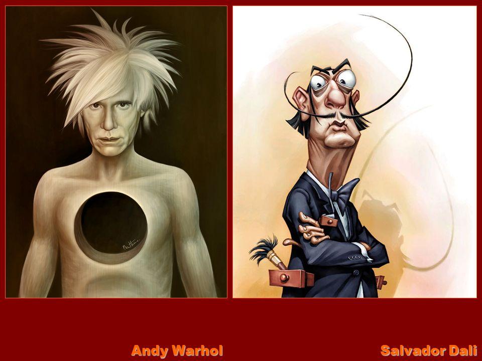 Andy Warhol Salvador Dali